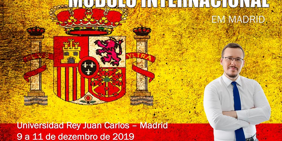 MÓDULO INTERNACIONAL - MADRID (ESPANHA)