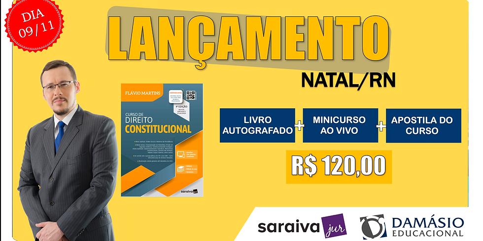 LANÇAMENTO: NATAL/RN