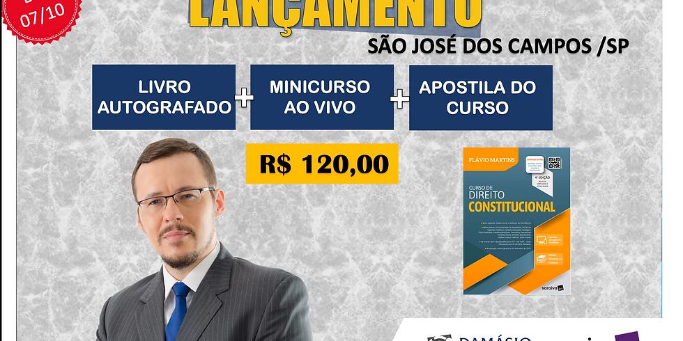LANÇAMENTO: SÃO JOSÉ DOS CAMPOS/SP - 07/10