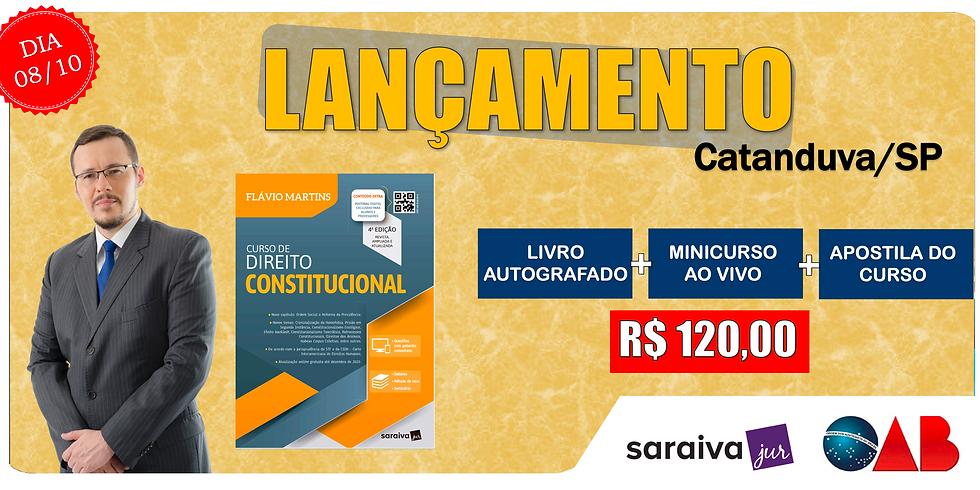 LANÇAMENTO: CATANDUVA/SP - 08/10