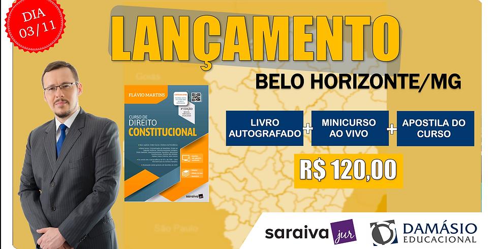 LANÇAMENTO: BELO HORIZONTE - 03/11
