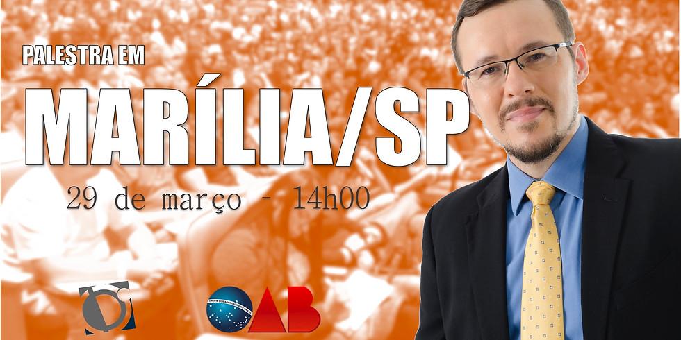 PALESTRA - MARÍLIA/SP