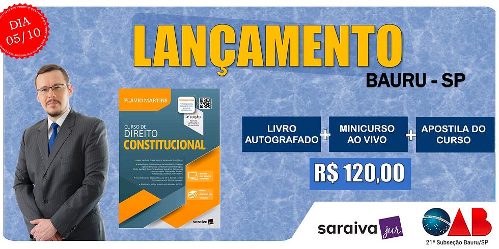 LANÇAMENTO: BAURU/SP - 05/10