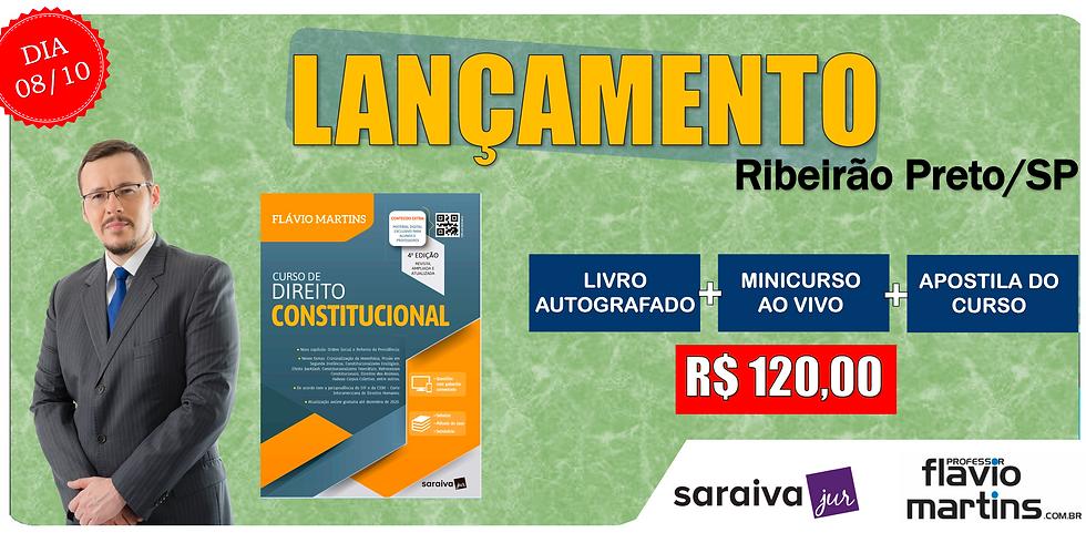 LANÇAMENTO: RIBEIRÃO PRETO/SP - 08/10