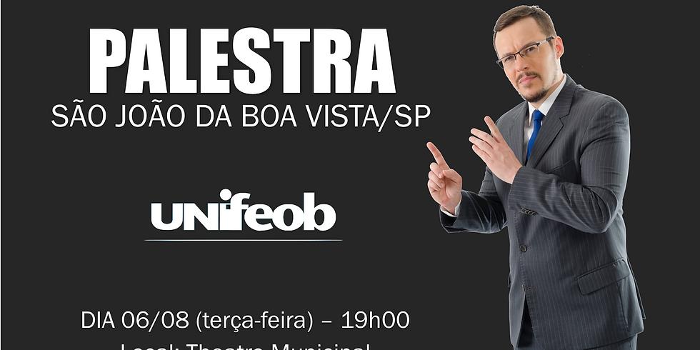 PALESTRA - S. J. BOA VISTA