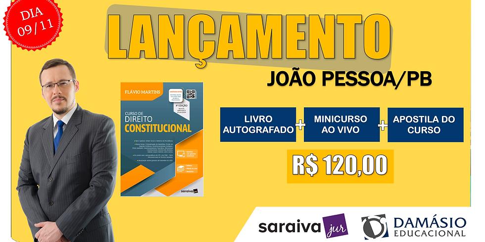LANÇAMENTO: JOÃO PESSOA/PB