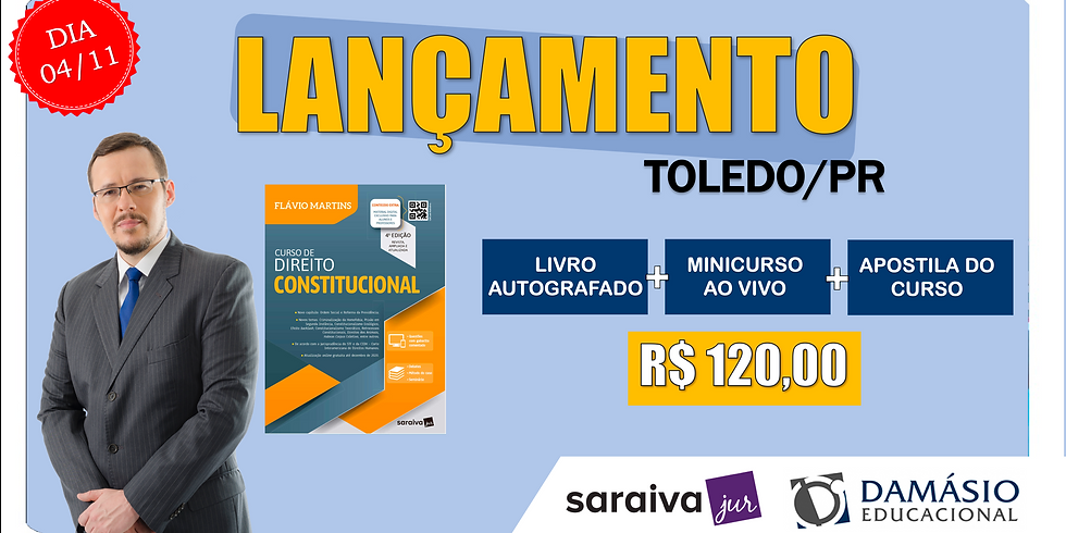 LANÇAMENTO: TOLEDO/PR