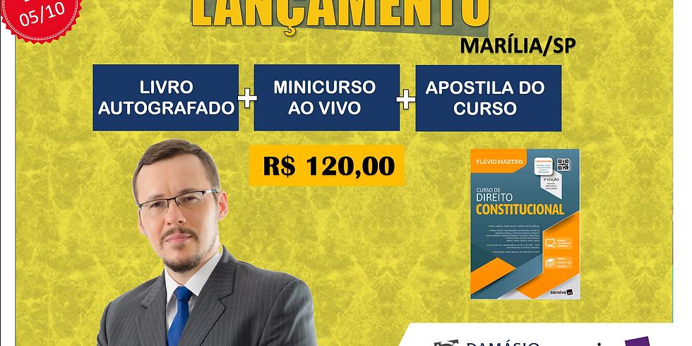 LANÇAMENTO: MARÍLIA/SP - 05/10