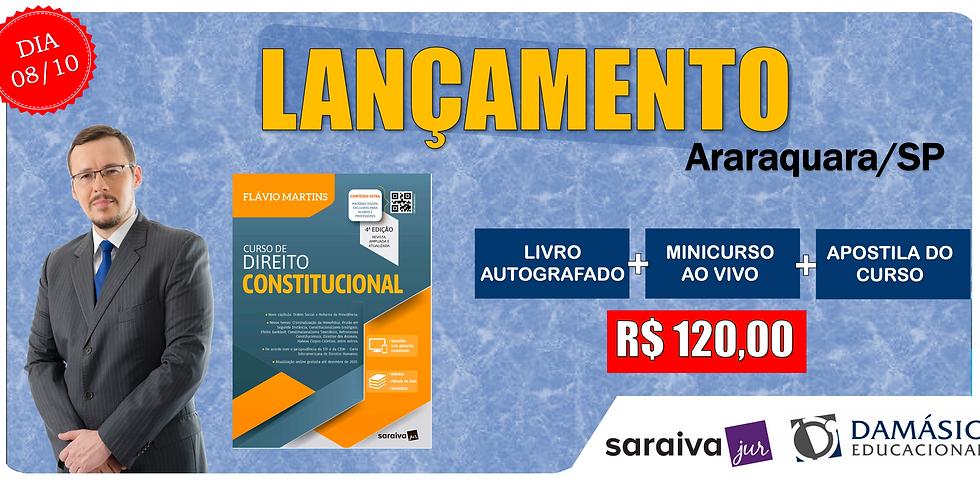 LANÇAMENTO: ARARAQUARA/SP - 08/10