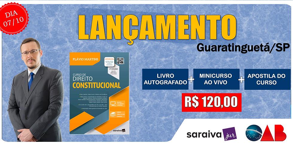 LANÇAMENTO: GUARATINGUETÁ/SP - 07/10
