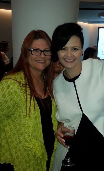 photographer carole diamond with photographer kelly brown at the baby summit