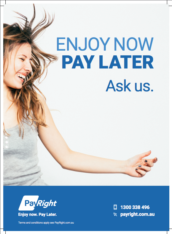 Enjoy now pay later