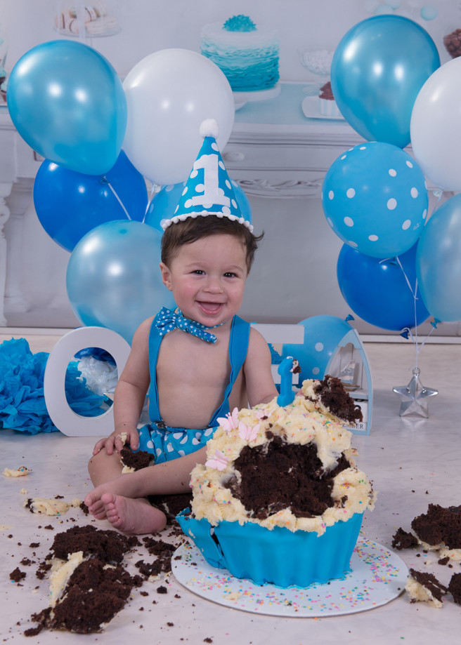 1st Birthday Cake Smash Fun