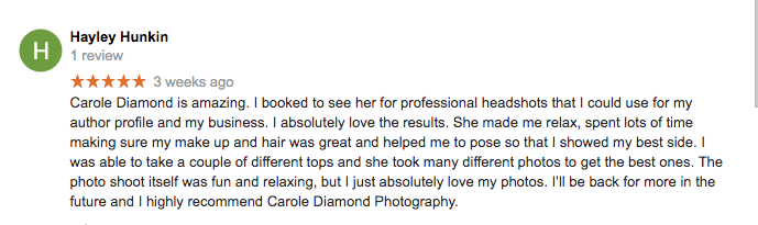 review for miranda photographer