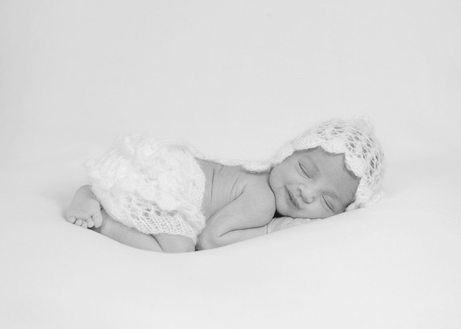 Mia's Newborn Photography Sitting