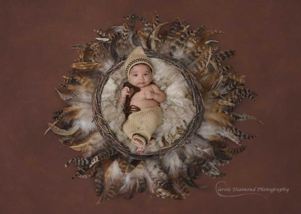 Newborn style photos