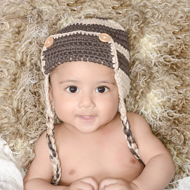Rashaba's 3 month old Baby photos
