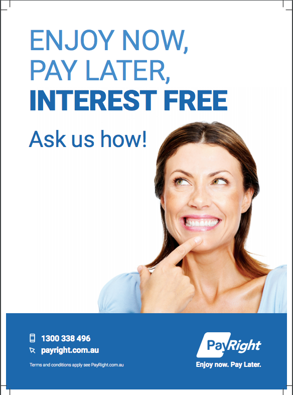 "Exciting News ""Interest Free Payment Plans now available"""