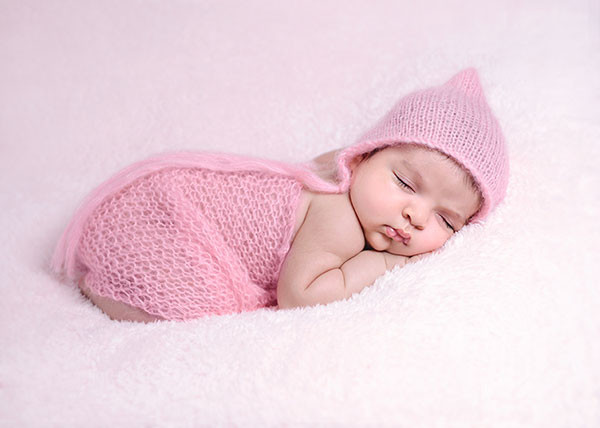 6 week baby photography