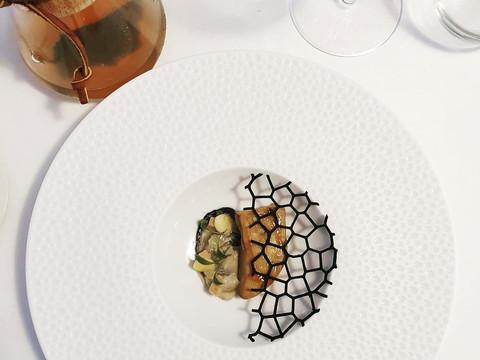 Le foie gras poché