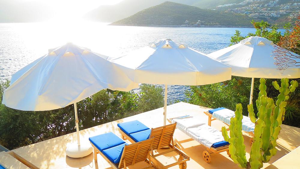 villa mahal terrace