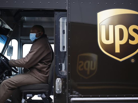UPS Shares Fall as Firm Gets More Selective on Deliveries