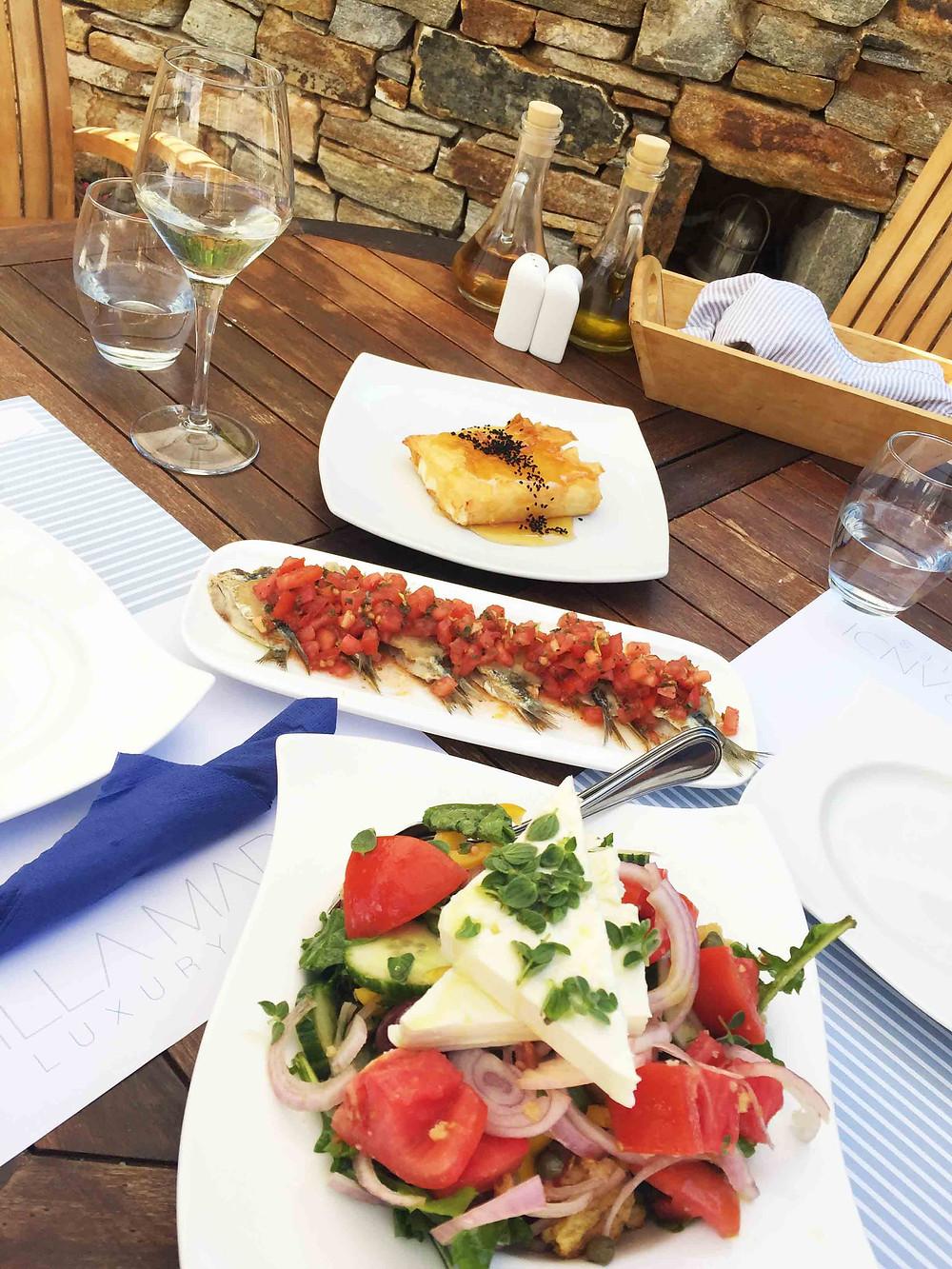 villa marandi restaurant