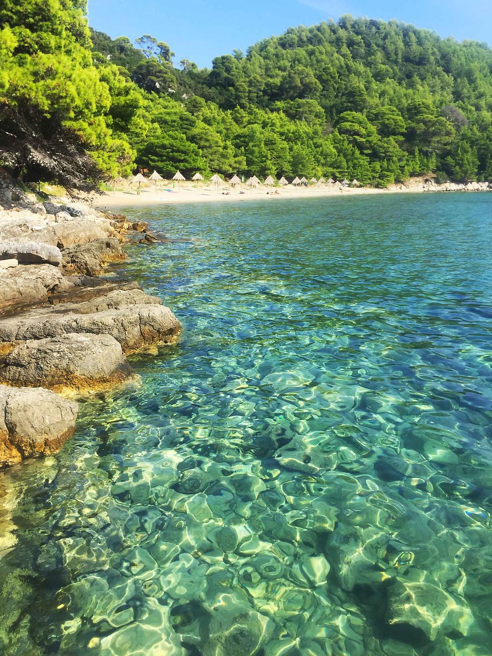 mljet beach
