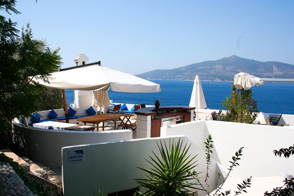 villa mahal rooftop