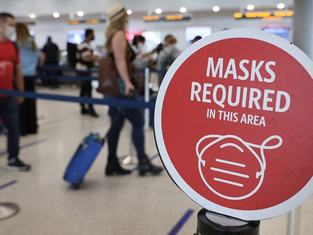 CDC no longer requiring travelers to wear masks in outdoor transit hubs