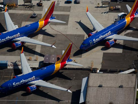 Southwest Airlines raises order for smallest Boeing 737 Max by 34 planes