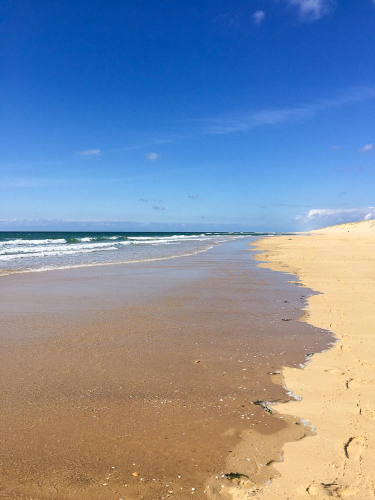 cap ferret beach