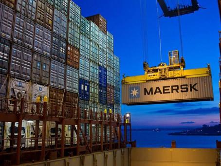Maersk international destinations sent medical aids to assist India
