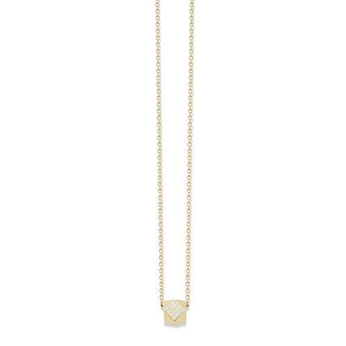 Pave Geo Be(ad) Necklace
