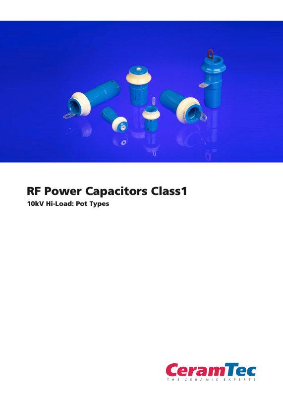 CeramTec RF Power Pot Type Ceramic Capacitors