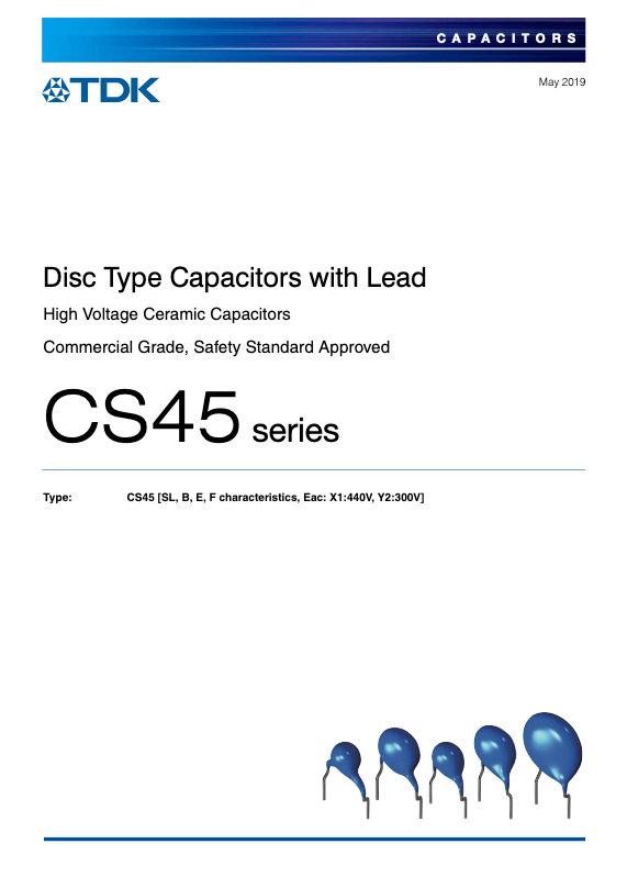 TDK CS45 Series