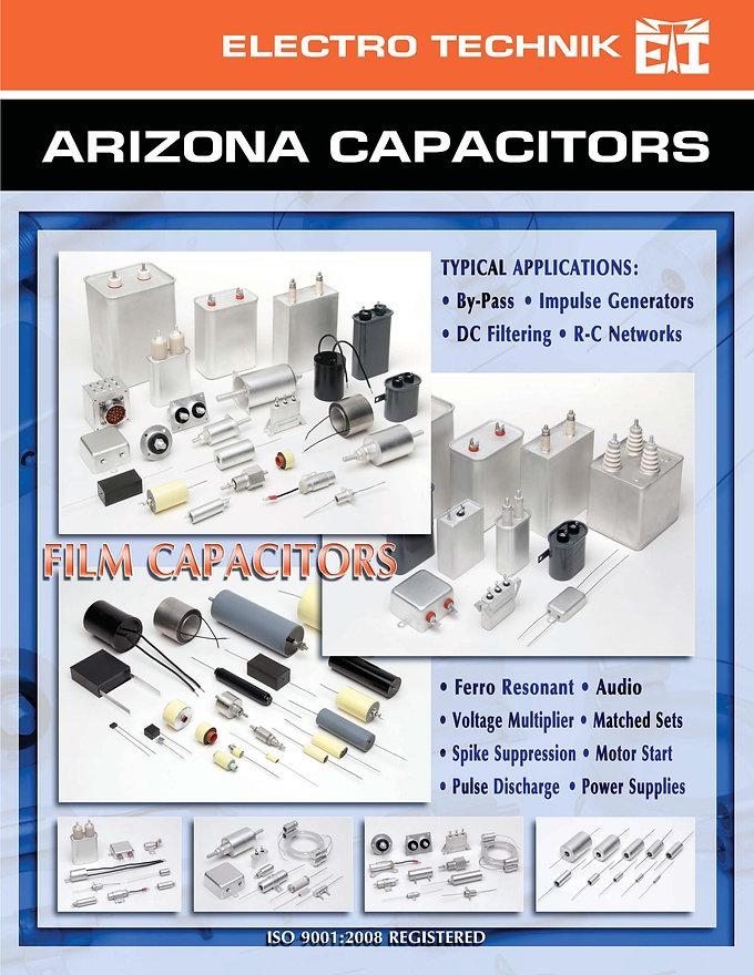Arizona Capacitors Film Capacitors