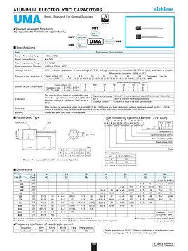 Nichicon UMA Series Aluminum Electrolytic Capacitors