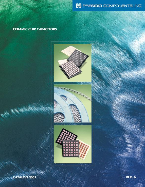 Presidio Components Ceramic Chip Capacitors