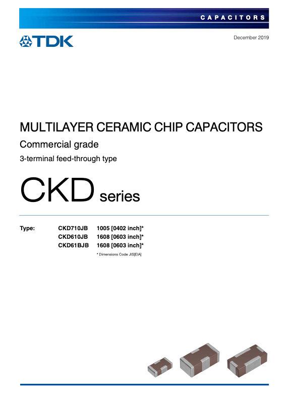 TDK CKD Series