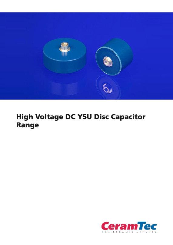 CeramTec High Voltage Capacitors
