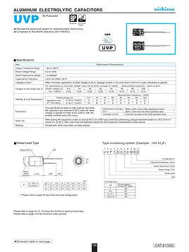 Nichicon UVP Series Aluminum Electrolytic Capacitors
