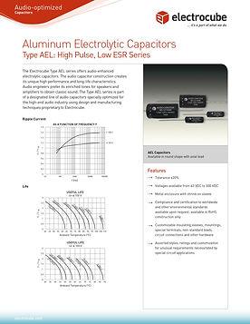 Electrocube AEL Series Aluminum Electrolytic Capacitors