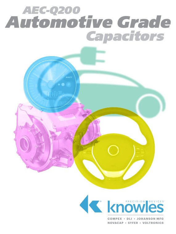 Knowles AEC-Q200 Automotive Grade Capacitors