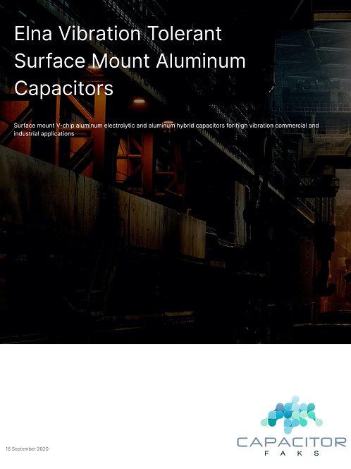 Elna Vibration Tolerant Surface Mount Aluminum Capacitors