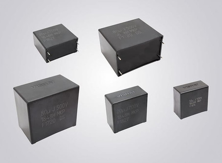 Vishay Intertechnology Automotive Grade DC-Link Film Capacitors Deliver Stable Capacitance