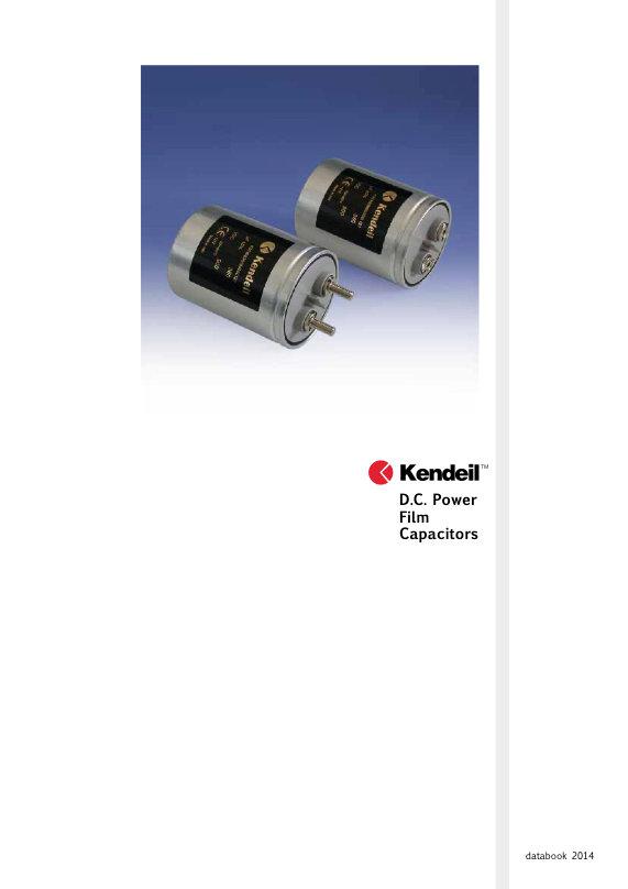 Kendeil DC Link Capacitors