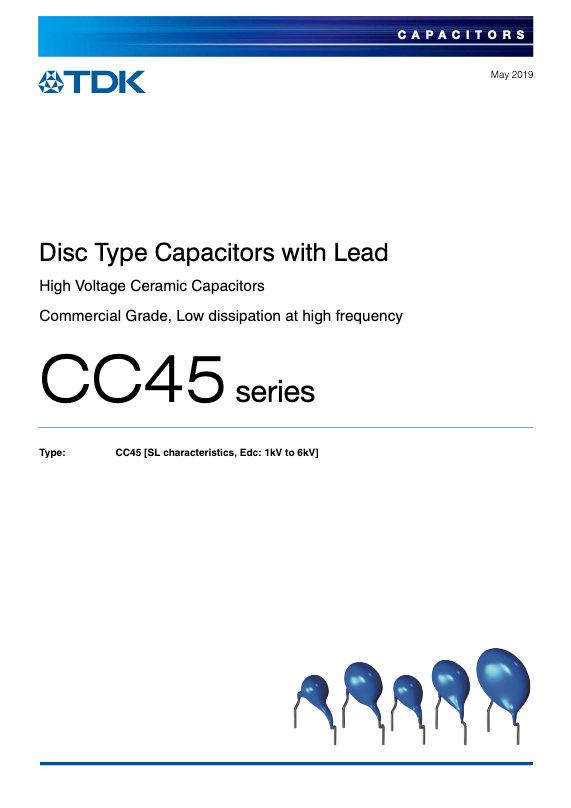 TDK CC45 Series