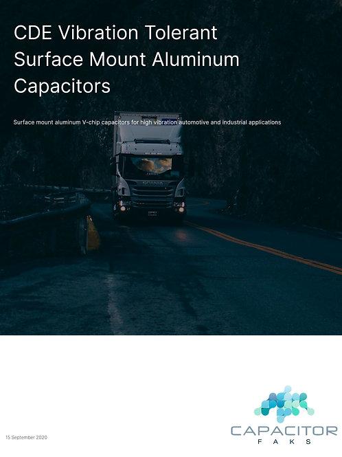 Cornell Dubilier Vibration Tolerant SMD Aluminum Capacitors