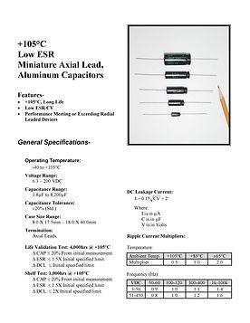 BMI 30LR Series Aluminum Capacitors